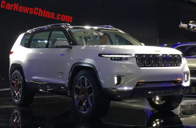 The Jeep Yuntu Concept Is A Big 6-Seat SUV For China