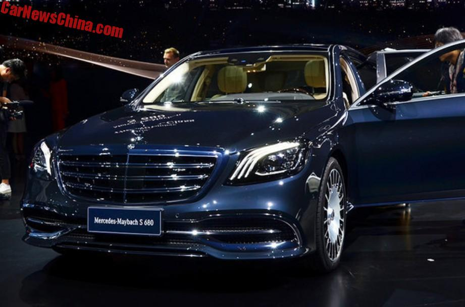 Mercedes-Maybach S680 And S560 Launched On The Shanghai Auto Show In ...