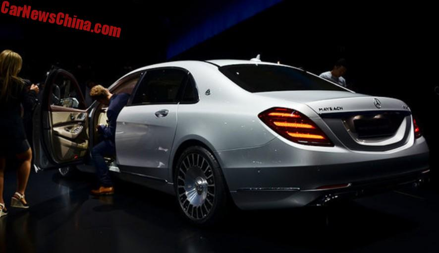 Mercedes Maybach S680 And S560 Launched On The Shanghai