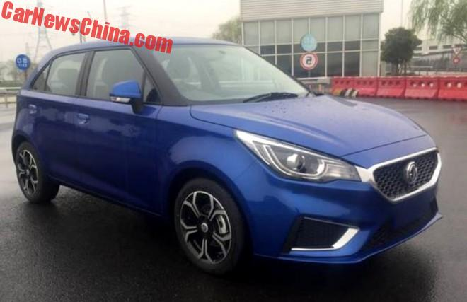 First Photos Of The Facelifted MG3