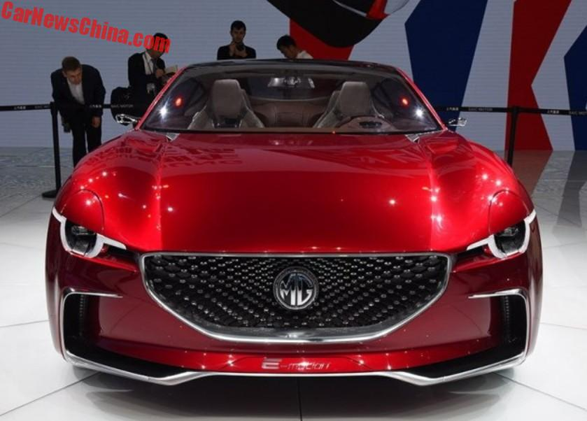 The Mg E Motion Is The Star Of The Shanghai Auto Show Production