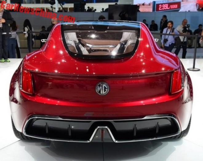 MG E-Motion concept on the 2017 Shanghai Auto Show