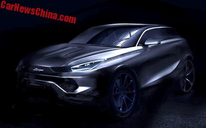 First Images Of The Zotye Concept S For The Shanghai Auto Show