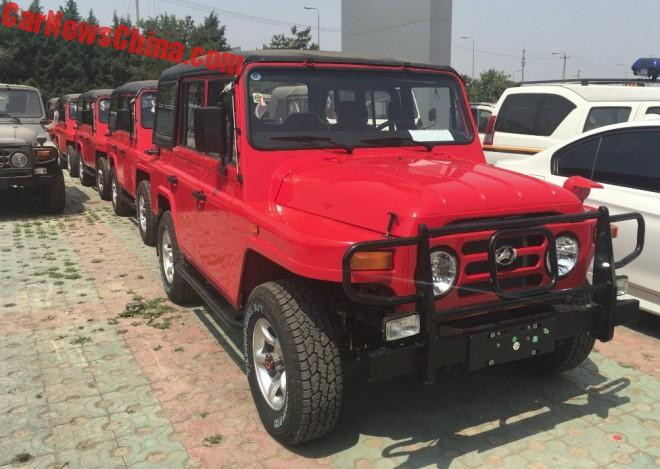 The Good Old Beijing Auto Works BJ212 Is Alive And Kicking Again