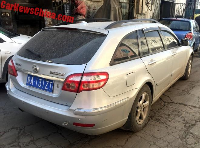 Brilliance BS4 Wagon