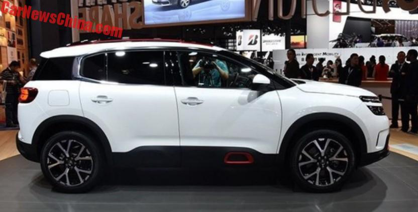 citroen c5 aircross suv is almost ready for china. Black Bedroom Furniture Sets. Home Design Ideas