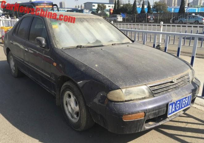 Spotted in China: U13 Nissan Fengshen Bluebird EQ7200 SSS