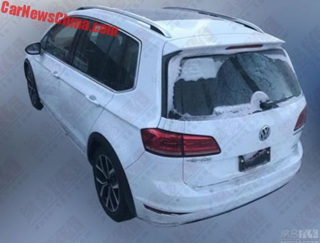 Volkswagen Golf Sportsvan Cross