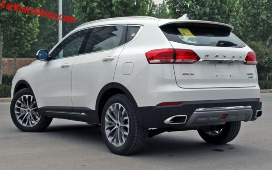 New Haval H6 Suv Hits The Chinese Car Market In Red And