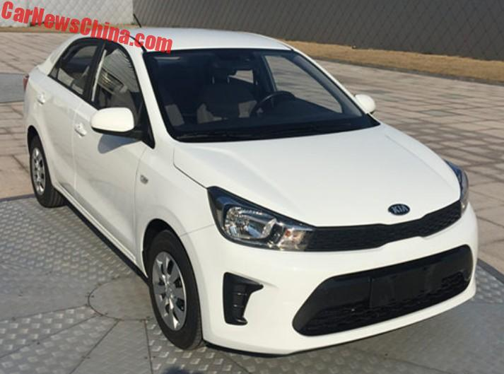 The New Kia Pegas Sedan Is Almost Ready For China Carnewschina Com