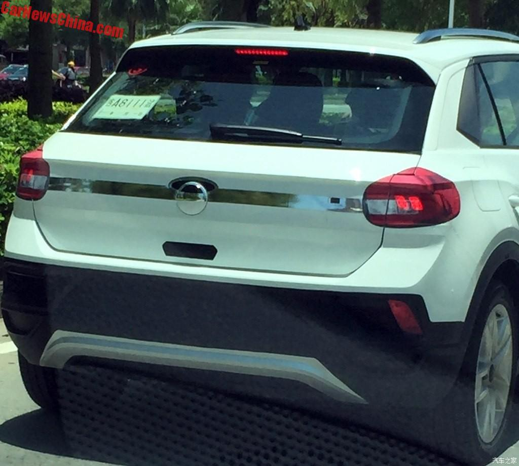 Spy Shot: Volkswagen T-Roc Is Naked In China