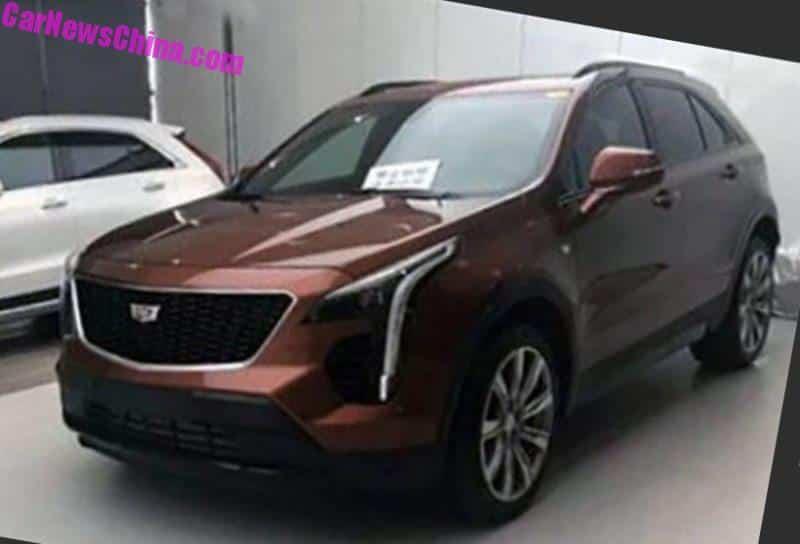 New Photos Of The China Made Cadillac Xt4 Suv