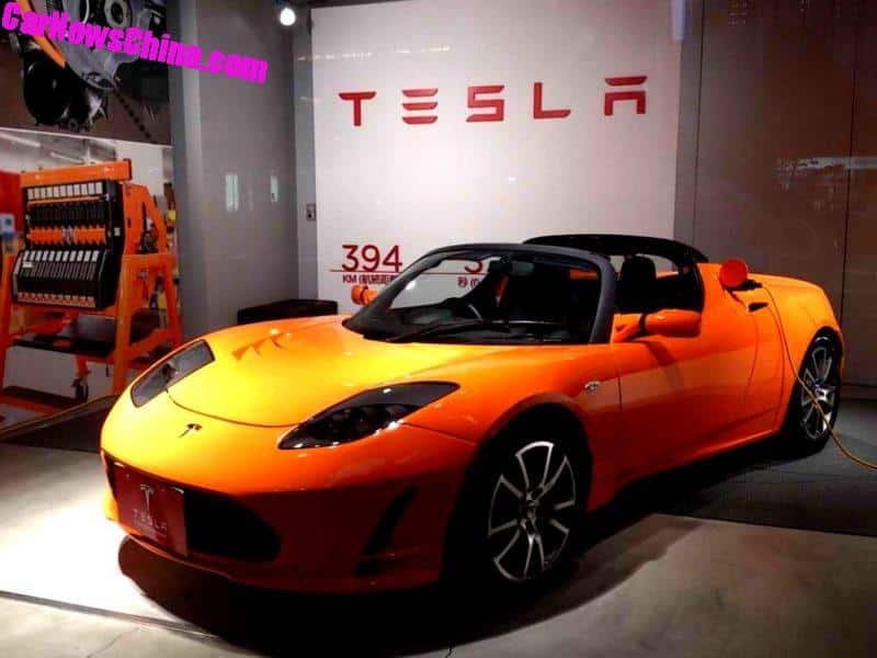 Original Tesla Roadster